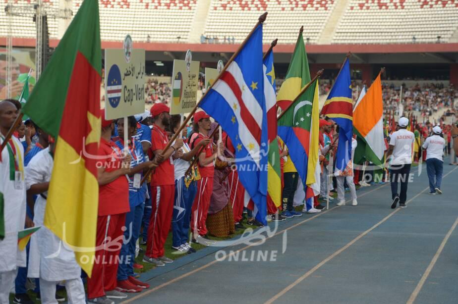 بالصور.. إنبهار الوفود المشاركة في الألعاب الإفريقية